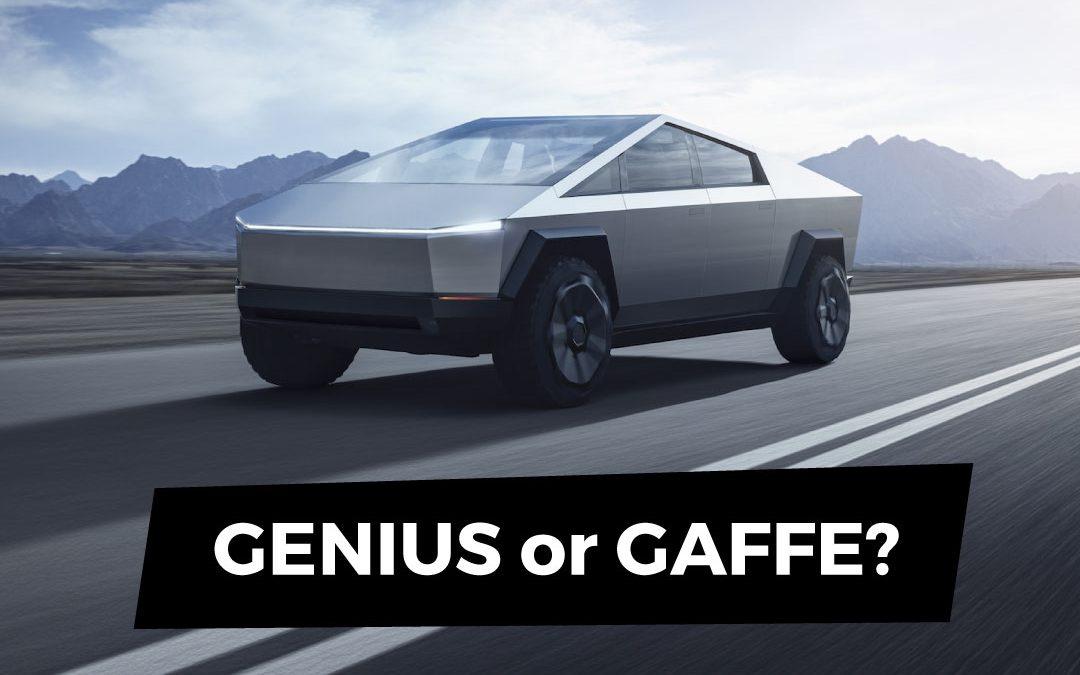 Tesla Cybertruck – Foolish or Futuristic?