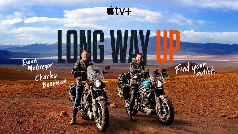 The Long Way Up (On Electric Harleys!)