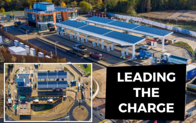 Britain's first forecourt for electric cars now open