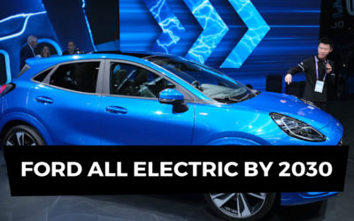 Ford follows Jaguar on EV pledge