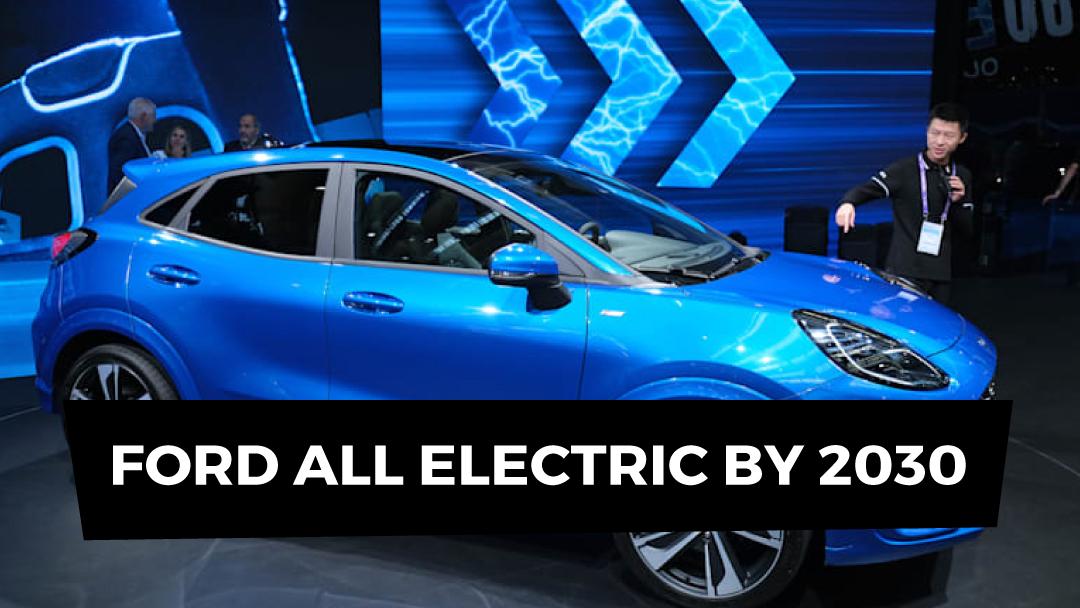 Ford follows Jaguar on EV pledge